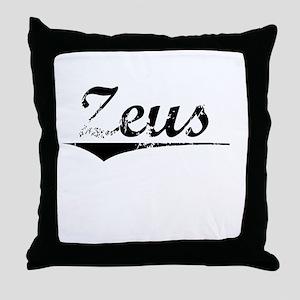 Zeus, Vintage Throw Pillow