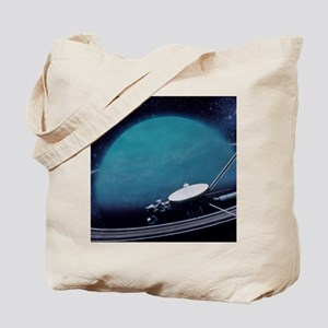 Artwork showing Voyager 2's encounter wit Tote Bag