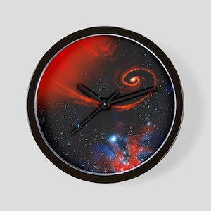 Artwork: binary star system containing  Wall Clock