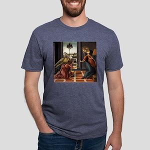 Cestello Annunciation - Botticelli Mens Tri-blend