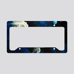 Asteroid deflection, nuclear  License Plate Holder