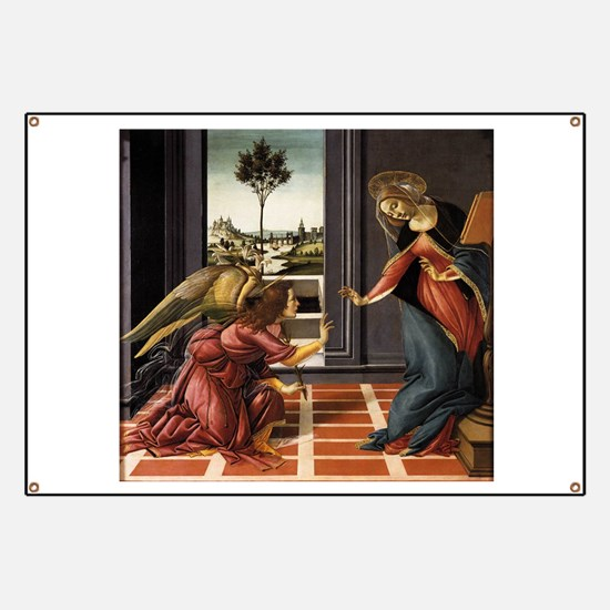 Cestello Annunciation - Botticelli Banner