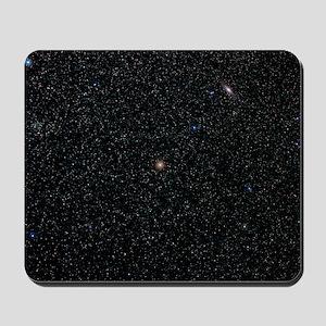 Andromeda starfield Mousepad