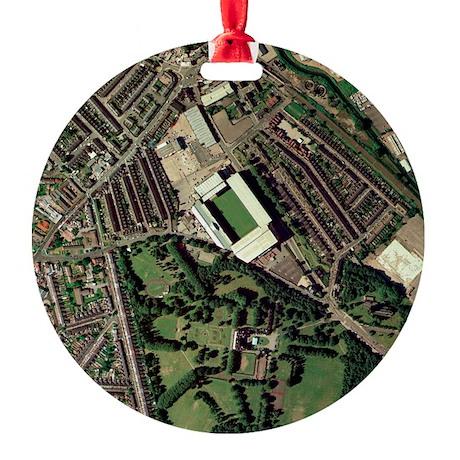 Aston Villa's Villa Park stadium, a Round Ornament