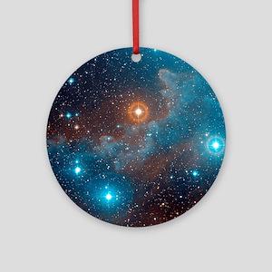 Alnilam nebula, NGC 1990 Round Ornament