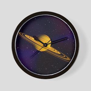 Artist's impression of a Saturn-like pl Wall Clock