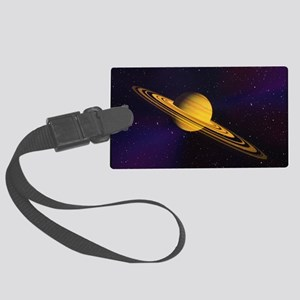 Artist's impression of a Saturn- Large Luggage Tag