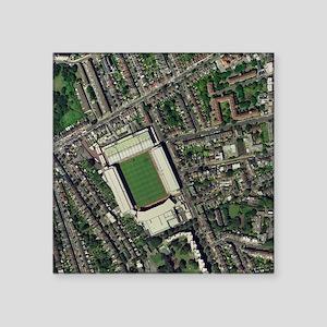 "Arsenal's Highbury stadium, Square Sticker 3"" x 3"""