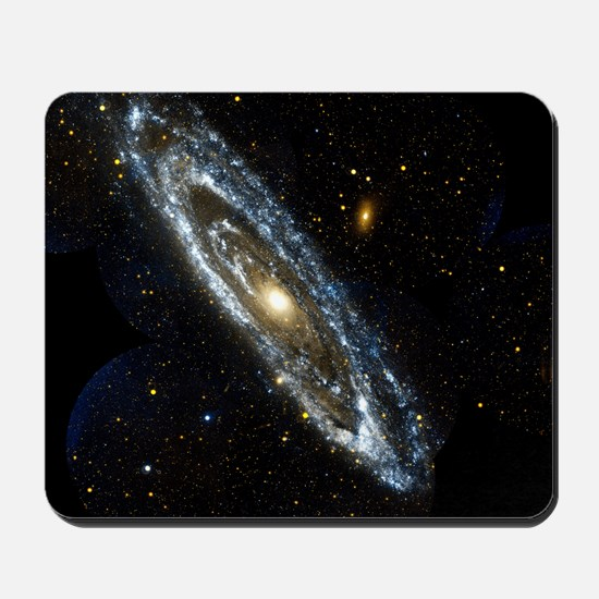 Andromeda Galaxy, UV image Mousepad