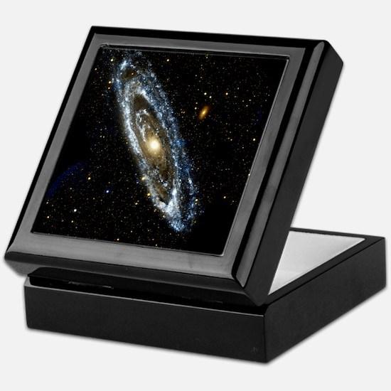 Andromeda Galaxy, UV image Keepsake Box