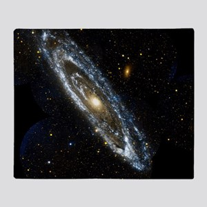 Andromeda Galaxy, UV image Throw Blanket