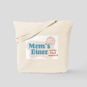 Vintage Retro Mom's Diner/Diaper 2-Sided Tote Bag