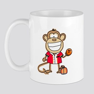 Bowling Monkey Mug