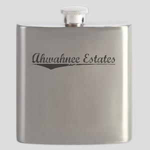 Ahwahnee Estates, Vintage Flask