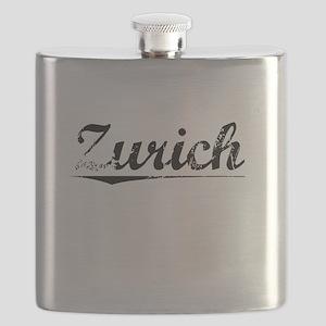 Zurich, Vintage Flask