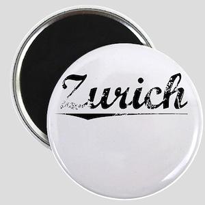 Zurich, Vintage Magnet