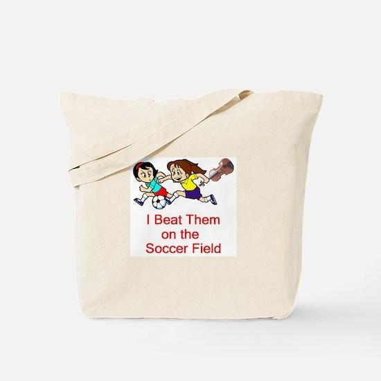 Girl's Soccer / Violin Tote Bag
