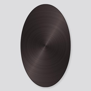 Titanium Plate Sticker (Oval)