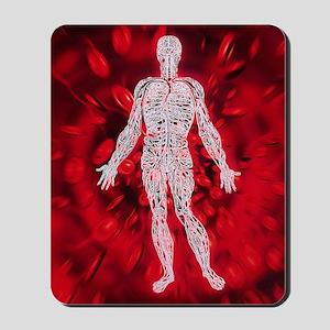 Blood circulation Mousepad
