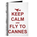 Keep Calm Fly To Cannes Journal