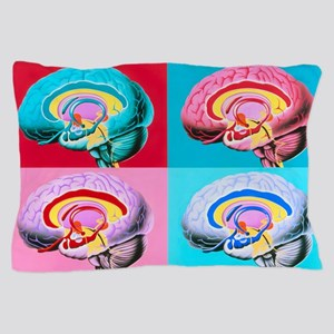 Artworks showing the limbic system of  Pillow Case