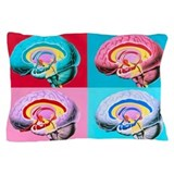 Brain anatomy Pillow Cases