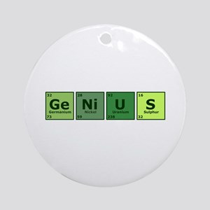 Genius Ornament (Round)