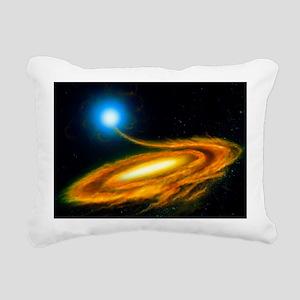 Artwork: binary star sys Rectangular Canvas Pillow