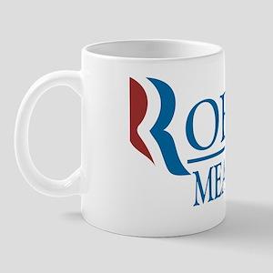 Robot/Meathead 2012: Romney Parody Mug