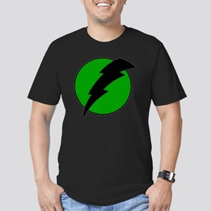 Lightning Bolt Men's Fitted T-Shirt (dark)