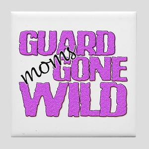 Guard Moms Gone Wild Tile Coaster