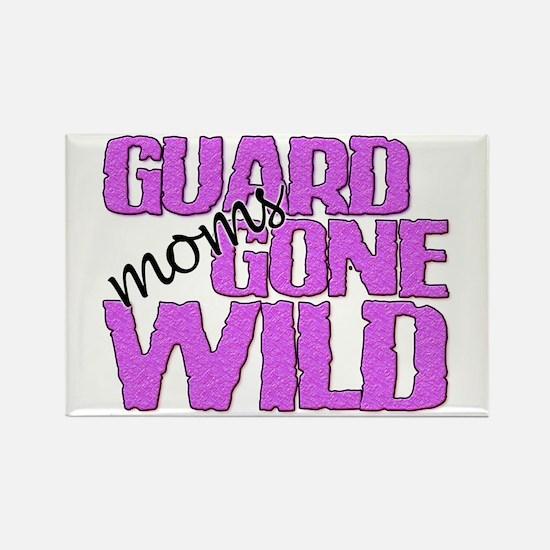 Guard Moms Gone Wild Rectangle Magnet