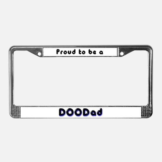 DooDad License Plate Frame
