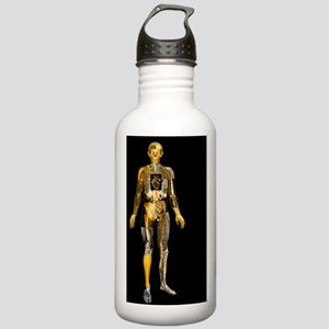 Body imaging Stainless Water Bottle 1.0L