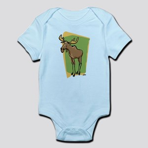 Melvin the Moose - Infant Creeper
