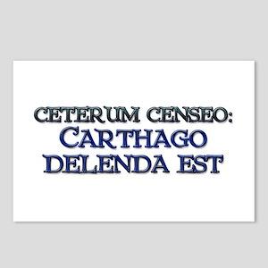"""""""Ceterum Censeo: Carthago"""" Postcards (8 - pack)"""