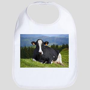Holstein cow Baby Bib
