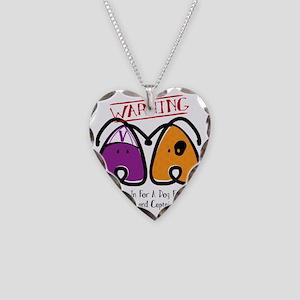 Fight Leukemia Necklace Heart Charm