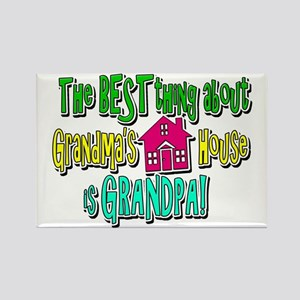 Grandad Best Rectangle Magnet