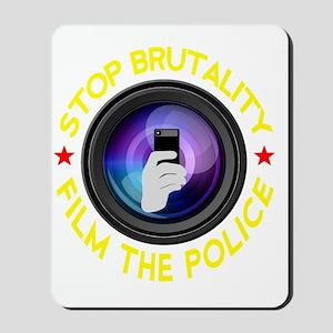 Film The Police Black Mousepad