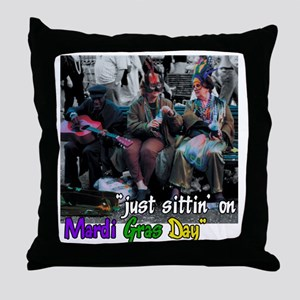 MGDAY4WHITE Throw Pillow