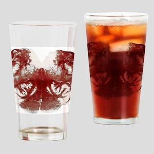 Brainstem cross-section, light micr Drinking Glass
