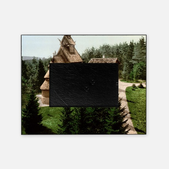 Gol Stave Church Picture Frame