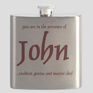 Master Chef John 1 Flask