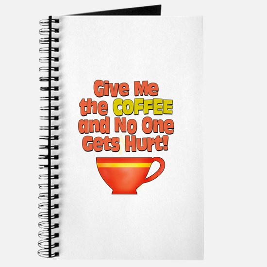 Give me the Coffee Journal