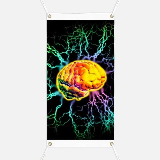 Brain activity Banner