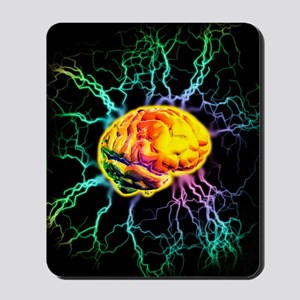 Brain activity Mousepad