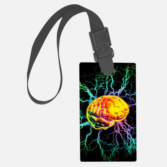 Brain activity Luggage Tag