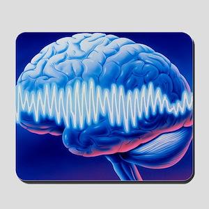 Brainwaves Mousepad