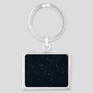 Cassiopeia constellation Landscape Keychain